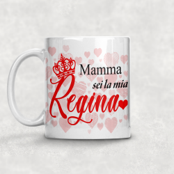 Tazza Mamma sei la mia regina