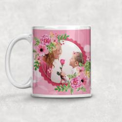 Mug photo flowers