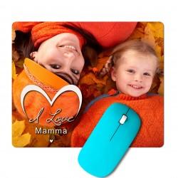 Tappetino Per Mouse con foto personalizzata per la mamma