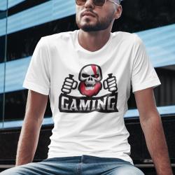 T-shirt con stampa Games, con scritta personalizzabile