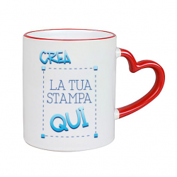 Tazza Love Rossa da...