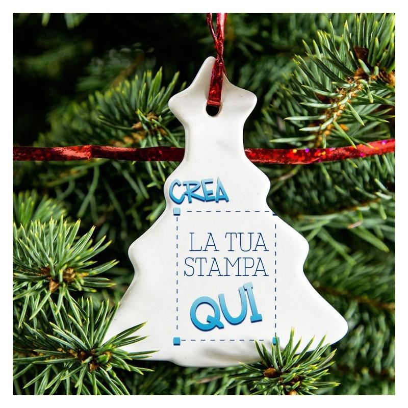 Immagini Natale Da Personalizzare.Ornamento Albero Da Personalizzare
