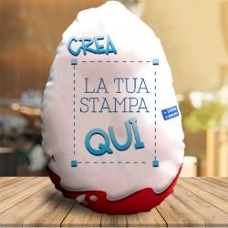 Cuscino Maxi ad uovo da Personalizzare 60cm x 80cm