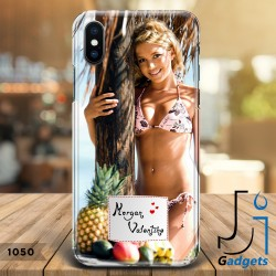 Cover Smartphone con foto e etichetta da personalizzare