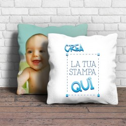 Cuscino Normal 40cm x 40cm da personalizzare