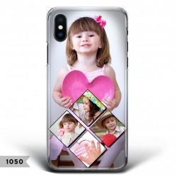 Cover Smartphone con rombo di foto e grande foto personalizzabili