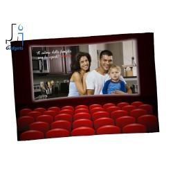 Coperta Plaid in Pile da personalizzare con foto e frase, tema cinema